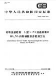 GB/T 27538-2011A型H1N1流感病毒中HA、NA的焦磷酸测序检测方法英文版 需联系翻译