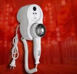 英特汉莎 酒店 宾馆 浴室 卫生间 家用干发器 干肤器 挂墙 壁挂式电吹风机HSD-90285