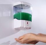 英特汉莎 壁挂式全自动感应皂液器 D9031 皂液盒 洗手液机器