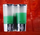 英特汉莎 酒店 浴室 壁挂式 手动双头 沐浴露瓶子 盒子给皂液器 洗手液器ML-808-42