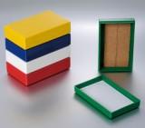 玻片盒 41-6025 25片软木底玻片盒