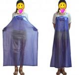 蓝色食品围裙 PVC围裙 食品厂专用防水围裙