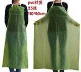 绿色围裙 食品厂、 水产厂用、肉食品加工、蔬菜工专用