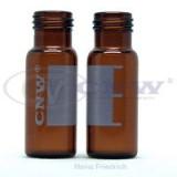 上海安谱 样品瓶 CNW 9mm 棕色螺纹口自动进样瓶(带刻度、书写)