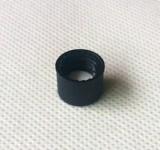PP黑色开口螺旋盖组合盖垫,2mL螺旋样品瓶配件,隔垫瓶盖特价