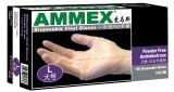 爱马斯 一次性PVC手套(无粉) ,食品加工实验室劳保手套
