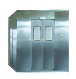 德川工贸风淋室|出口韩国食品用不锈钢风淋室|手动门风淋室