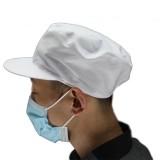 食品车间用工作帽 防护帽 屠宰、肉食、水产、罐头、面点加工专用