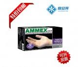 特价 正品AMMEX爱马斯 一次性PVC手套 无粉光面透明手套 食品级