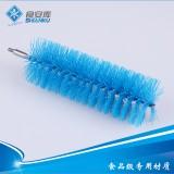 食安库管道刷头精密仪器刷清洁刷子刷头不同直径 配可弯曲杆