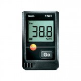 德图testo 174H迷你型温湿度记录仪,双通道,包括墙面支持架 德