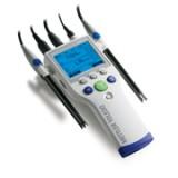 梅特勒 SG78 SevenGo Duo Pro  专业型便携式 pH/离子浓度/电导率多参数测试仪