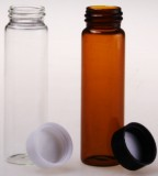 透明玻璃样品瓶 15ml 螺纹样品瓶 PP塑料盖 PE内垫