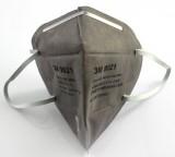 3M 9021 9022 折叠环保包装带式防护口罩