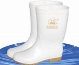 天津丽泰 白色食品靴 防滑 耐油耐酸碱 PVC高筒食品靴