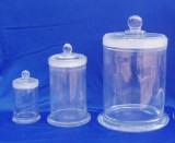 玻璃标本瓶 具磨砂盖 厚料磨砂口标本瓶 60*150MM