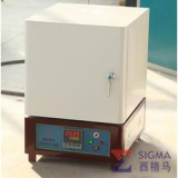洛阳西格玛 人工智能箱式电阻炉 马弗炉 陶瓷纤维材料 智能H型 最高温度1000度
